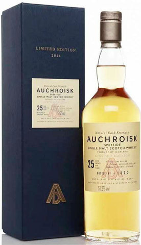 Auchroisk 25 Year Limited Edition 2016 Single Malt Scotch Whisky