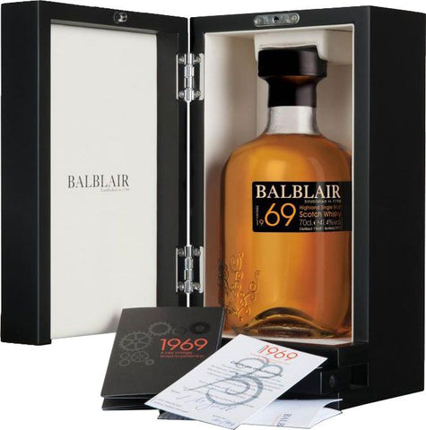Balblair 1969 Highland Single Malt Scotch Whisky