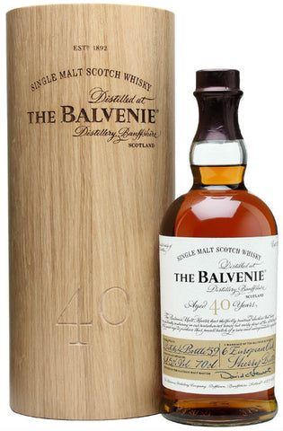 Balvenie 40 Year Single Malt Scotch Whisky