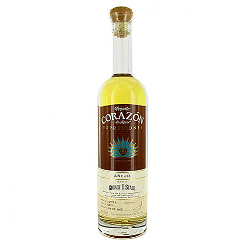 Corazon Expresiones Anejo Rested in George T Stagg Barrels
