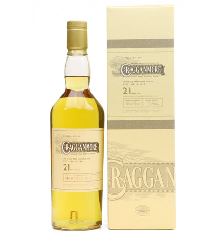 Cragganmore 21 Year Single Malt Scotch Whisky
