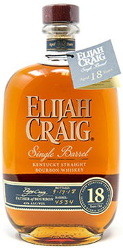 Elijah Craig Single Barrel 18 Year Kentucky Straight Bourbon Whiskey