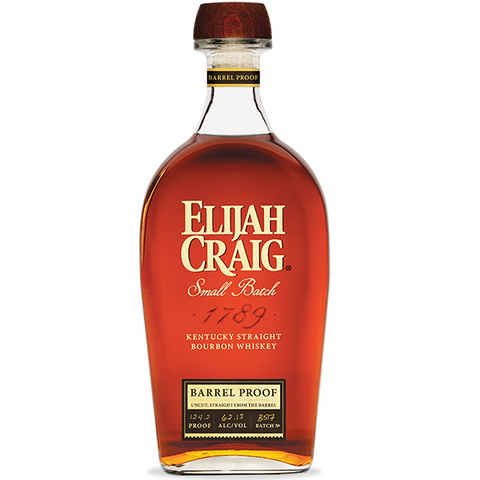 Elijah Craig Barrel Proof Edition B518 Kentucky Straight Bourbon Whiskey