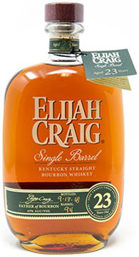 Elijah Craig Single Barrel 23 Year Kentucky Straight Bourbon Whiskey