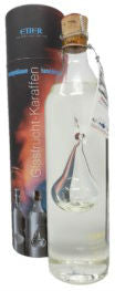 Etter Vieille Poire Williams Pear Eau-de-Vie in Glass Fruit Decanter