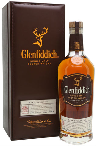 Glenfiddich 36 Year 1978 Rare Collection Limited Release Single Malt Scotch Whisky