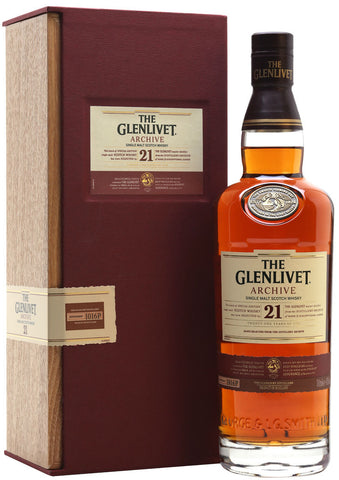 Glenlivet 21 Year Archive Single Malt Scotch Whisky
