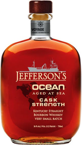 Jefferson's Ocean Cask Strength Voyage 14 Kentucky Straight Bourbon Whiskey
