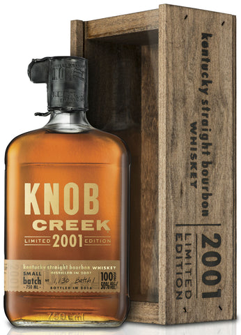 Knob Creek 2001 Limited Edition Batch 2 Kentucky Straight Bourbon Whiskey