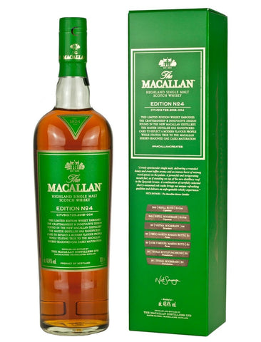 Macallan Edition No. 4 Highland Single Malt Scotch Whisky