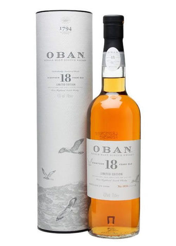 Oban 18 Year Limited Edition Single Malt Scotch Whisky