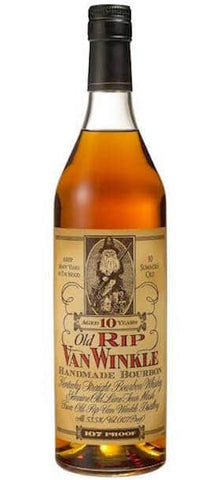 Old Rip Van Winkle Handmade 10 Year Old Kentucky Straight Bourbon Whiskey
