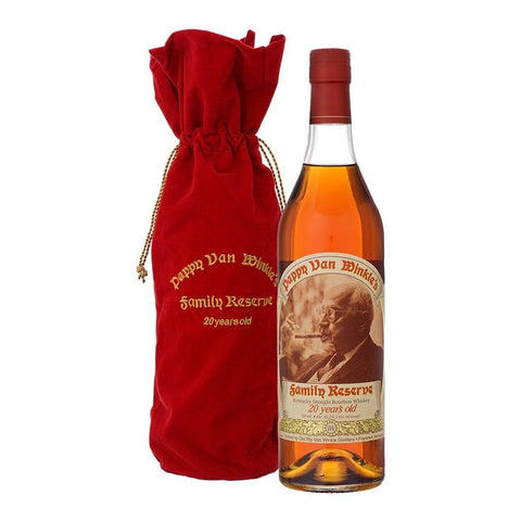 Old Rip Van Winkle 'Pappy Van Winkle's Family Reserve' 20 Year Old Kentucky Straight Bourbon Whiskey