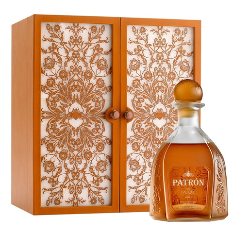 Patron Extra Anejo Limited Edition En Lalique Serie 1