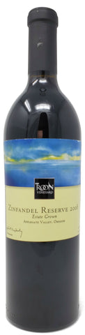 2008 Troon Vineyard Reserve Zinfandel