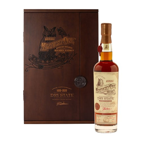 Kentucky Owl 'Dry State' 100th Anniversary Limited Edition Straight Bourbon Whiskey