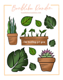 I'm rooting for you sticker sheets