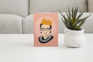 Notorious RBG Greeting Card