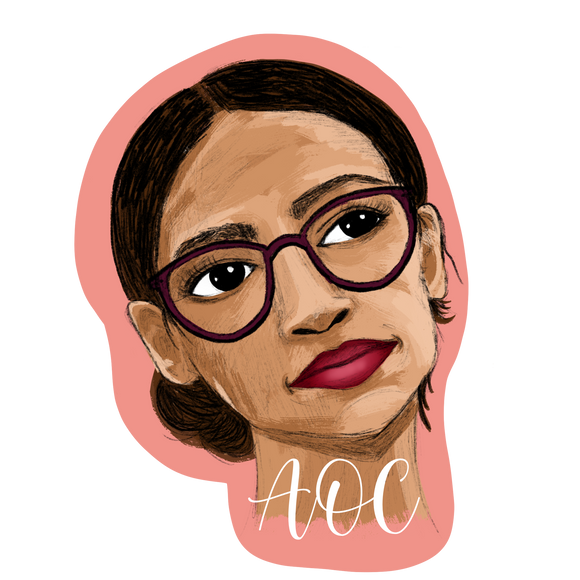 AOC sticker