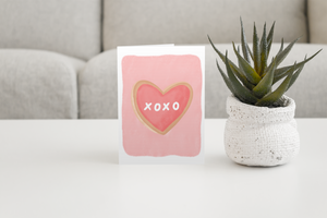 Xoxo Valentine's Day Cards (6 pack)