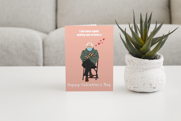 I am once again asking you Valentine's Day cards (6 pack)