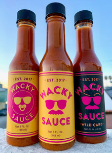 Wacky Sauce 4-Pack (Choose Any Flavor)