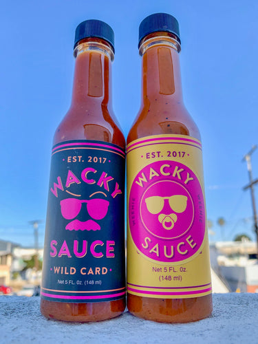 Wacky Sauce 2-Pack (Choose Any Flavor)