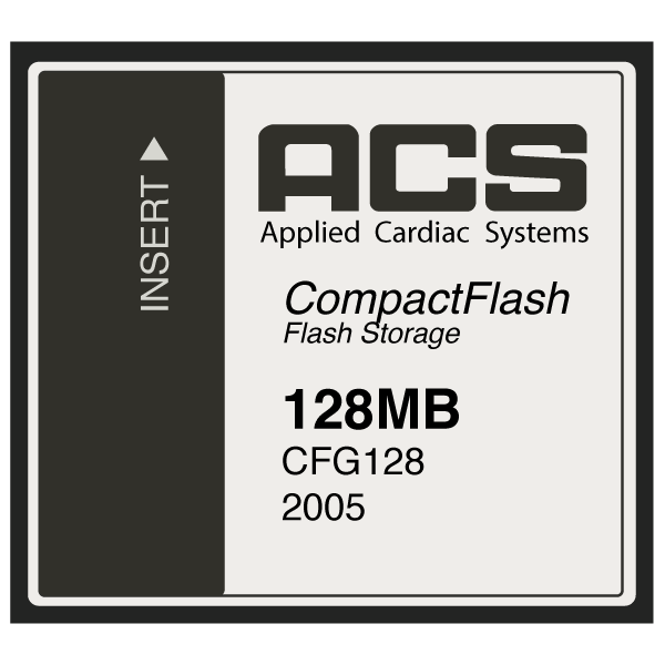 Model 2002A/2003 128 MB Flash Memory Card