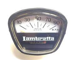 Lambretta 90mph Black Face