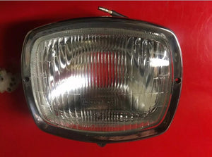 Lambretta GP Headlight With Chrome Rim