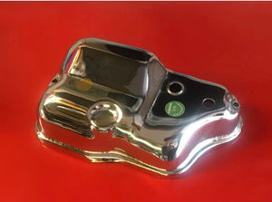 Vespa Chrome Autolube Carburettor Cover