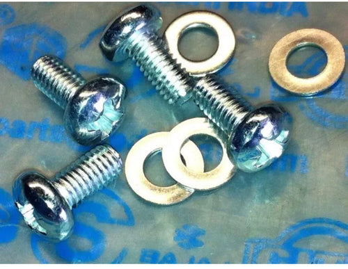 Vespa PX Flywheel Cover Screws Cross Head Type
