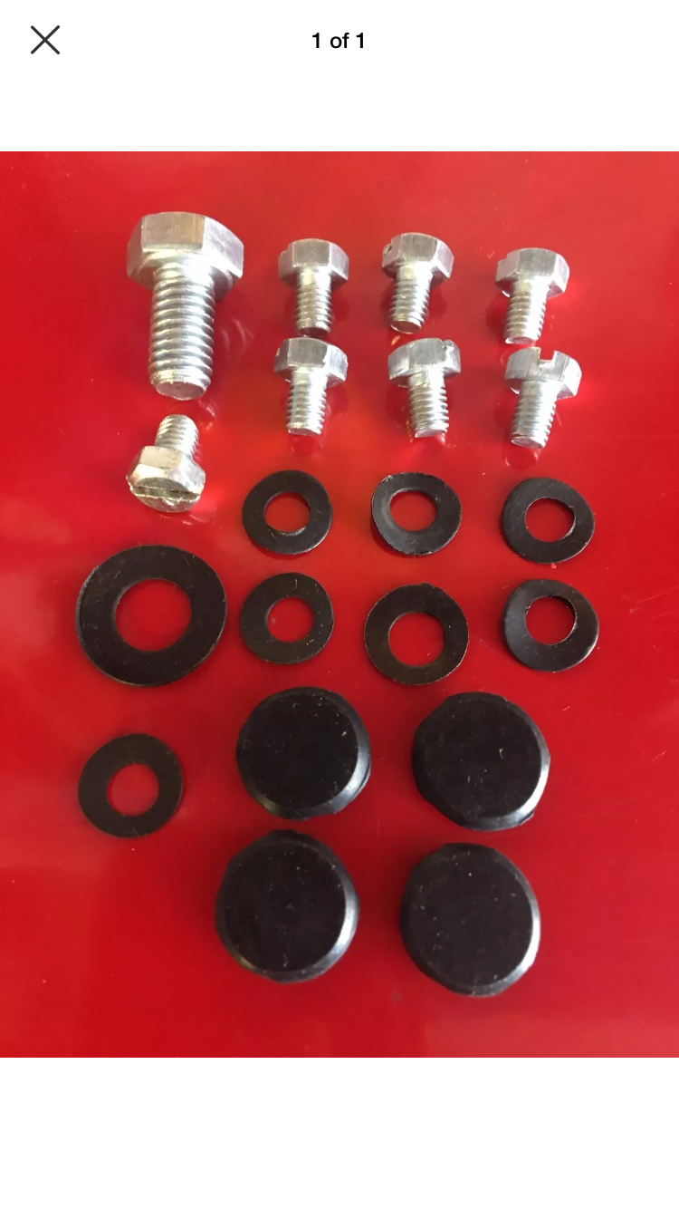 Lambretta Flywheel Cowling Cover Screws