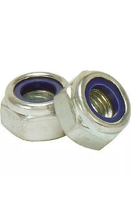 Vespa Nyloc Stainless Steel Wheel Nuts x 5
