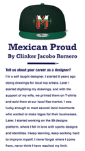 Load image into Gallery viewer, Mexican Proud - by Clinker Jacobo