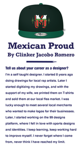 Mexican Proud - by Clinker Jacobo