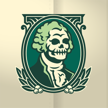 Load image into Gallery viewer, Dead Presidents - by Clinker Full Count Studios