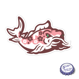 Cherry Koi Stickers