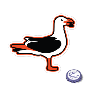 7th Inning Seagulls Stickers