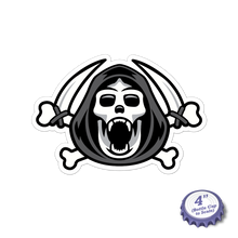 Load image into Gallery viewer, Reaper Kong Stickers