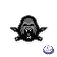 Load image into Gallery viewer, Clink Kong (B&W) Stickers