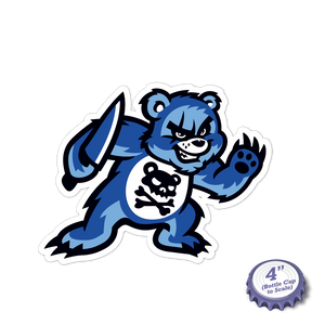 Scare Bears Stickers