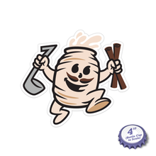 Load image into Gallery viewer, Horchata Man Stickers