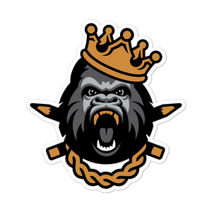 King Clink Stickers