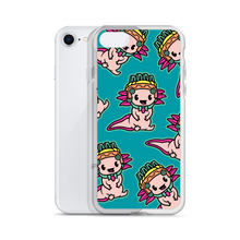 Load image into Gallery viewer, Lil Axolotl iPhone Case