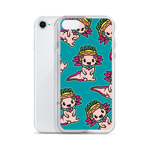 Lil Axolotl iPhone Case