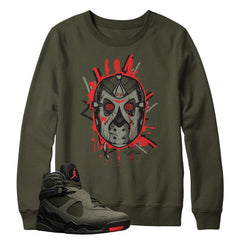 Jordan 8 Take Flight Jason Mask Sweater