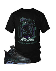 "Jordan 6 All Star ""Chameleon"" T-Shirt"