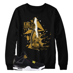 Jordan 4 Royalty King Sweater