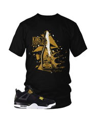 Jordan 4 Royalty King T-Shirt